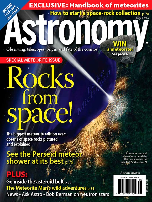 Astronomy August 2006