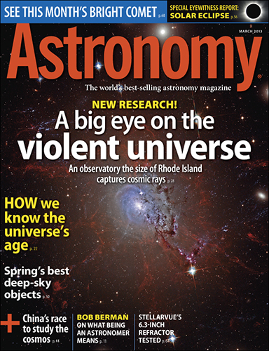 Astronomy March 2013