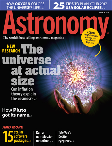Astronomy March 2016