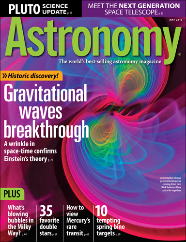 Astronomy May 2016
