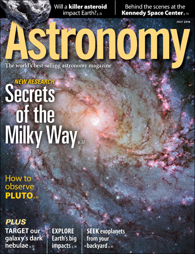 Astronomy July 2016
