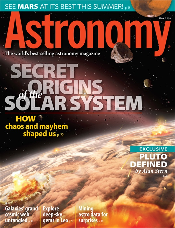 Astronomy May 2018
