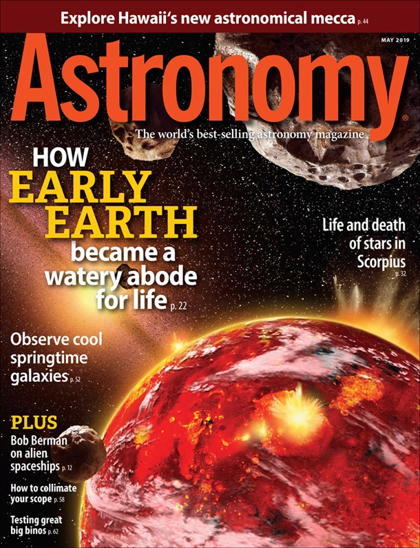 Astronomy May 2019