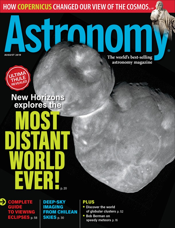 Astronomy August 2019