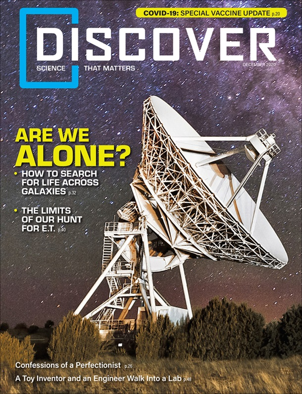Discover December 2020