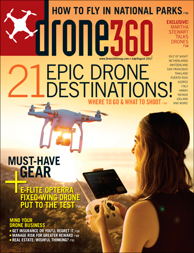 Drone360 July/August 2017
