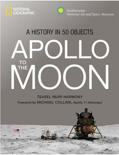 book cover: Apollo to the Moon by Teasel Muir-Harmony