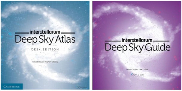 interstellarum Deep Sky Atlas and Guide Set