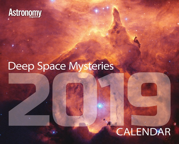2019 Deep Space Mysteries Calendar