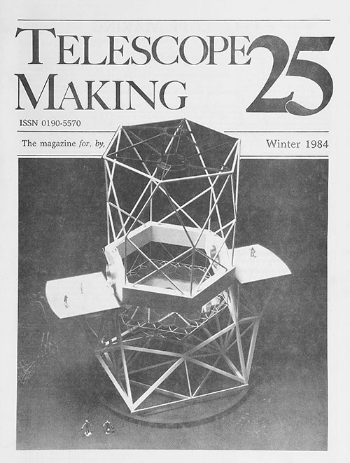 Telescope Making No. 25 (Winter 1984)