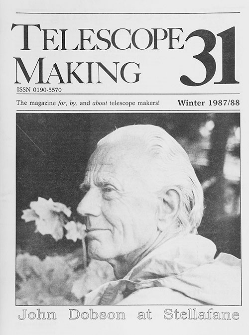 Telescope Making No. 31 (Winter 1987/88)