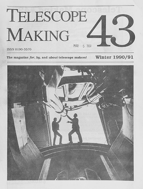 Telescope Making No. 43 (Winter 1990/91)