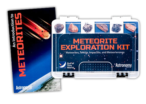 Astronomy Magazine Meteorite Exploration Kit