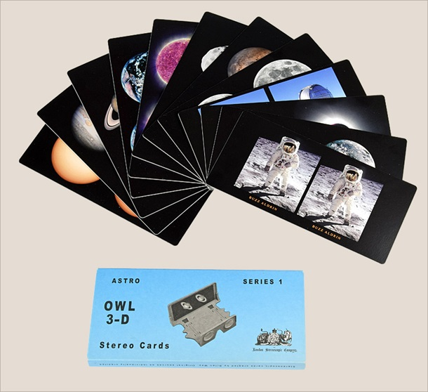 OWL 3-D Stereo Cards: Astro Series 1