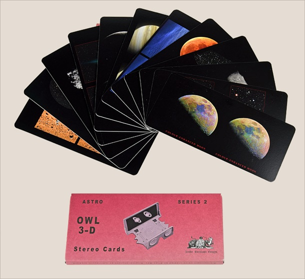 OWL 3-D Stereo Cards: Astro Series 2