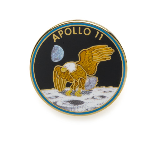 Apollo 11 Mission Lapel Pin