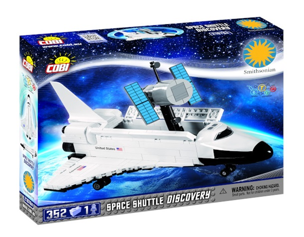 COBI Space Shuttle Discovery Building Blocks Set