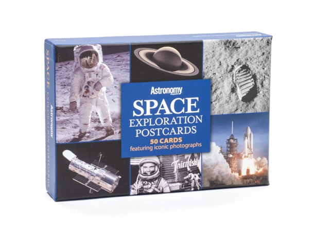 Space Exploration Postcards