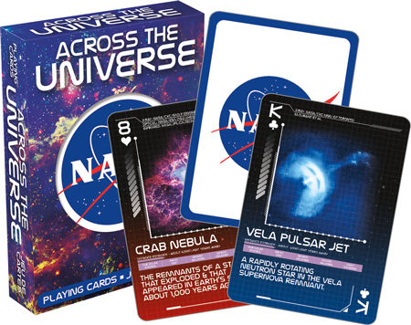 NASA Across the Universe Playing Cards