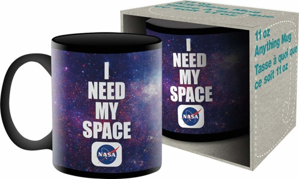 NASA I Need My Space Mug