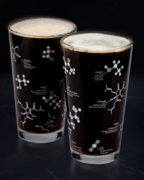The Science of Beer - Chemistry Pint Glass Set