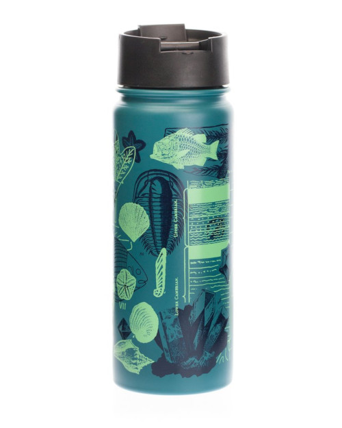 Paleontology: Fossils Stainless Steel Travel Mug