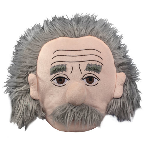 Einstein Stuffed Portrait Plush
