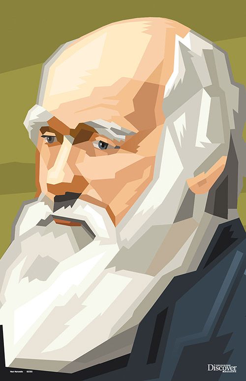 Heroes of Science Darwin Poster