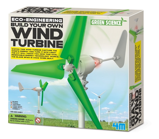 Green Science Build Your Own Wind Turbine Kit