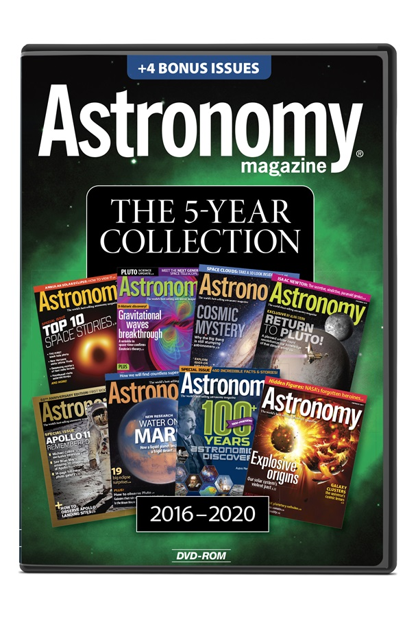 Astronomy Magazine: The 5-Year Collection 2016-2020 on DVD-ROM