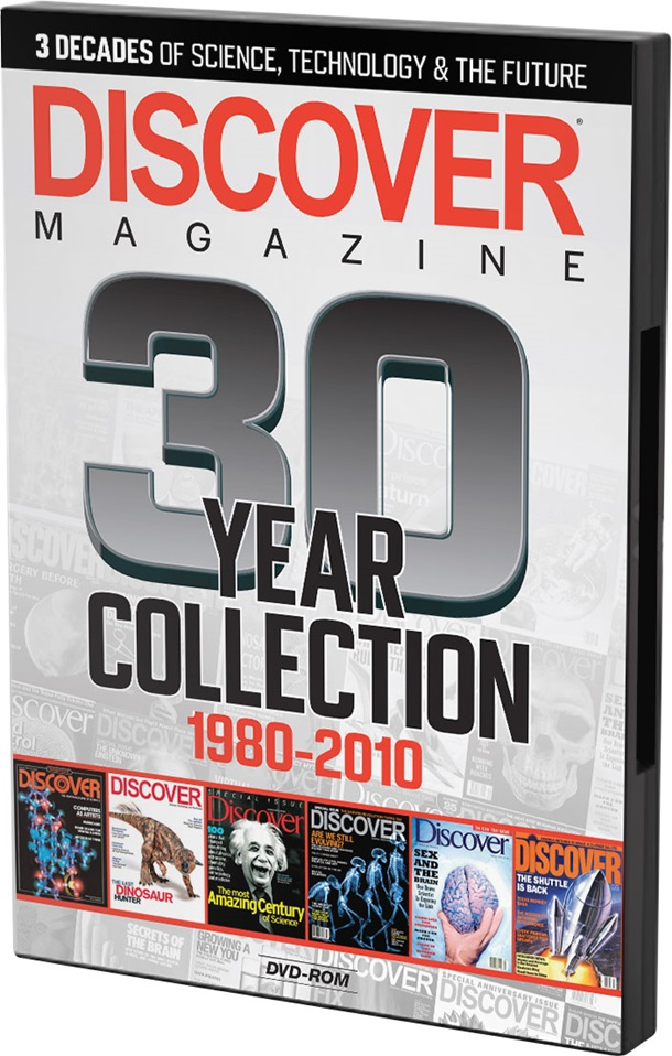 DISCOVER Magazine: 30–Year Collection on DVD-ROM