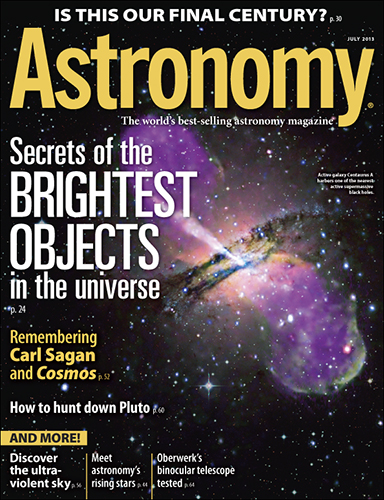 Astronomy July 2013