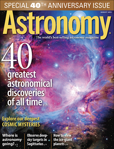 Astronomy August 2013