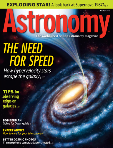 Astronomy March 2017