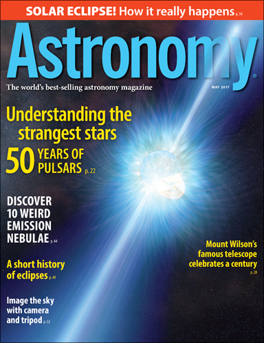 Astronomy May 2017