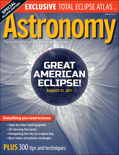 Astronomy August 2017