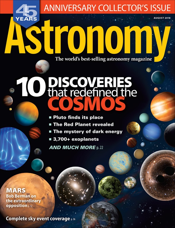 Astronomy August 2018