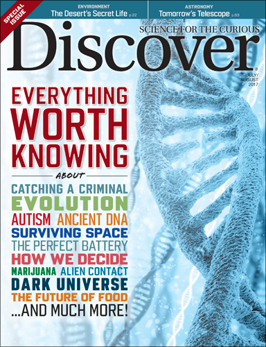 Discover August 2017