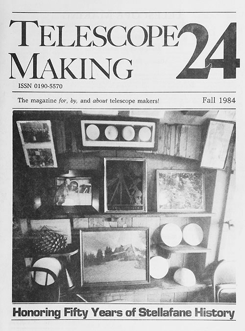 Telescope Making No. 24 (Fall 1984)
