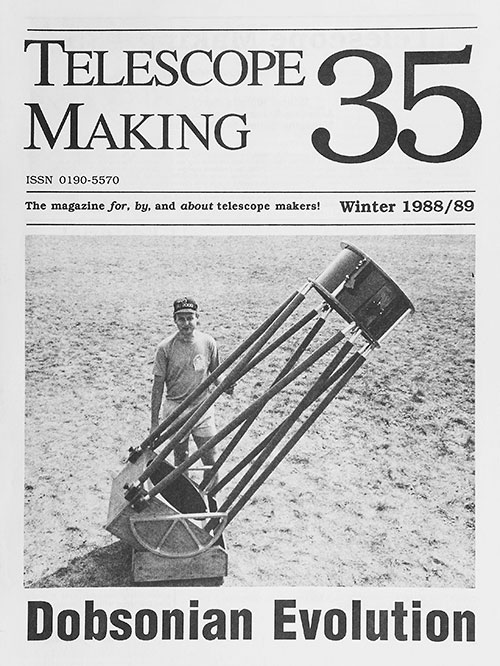Telescope Making No. 35 (Winter 1988/89)