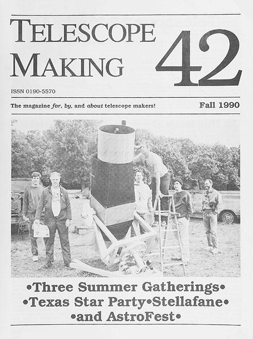Telescope Making No. 42 (Fall 1990)