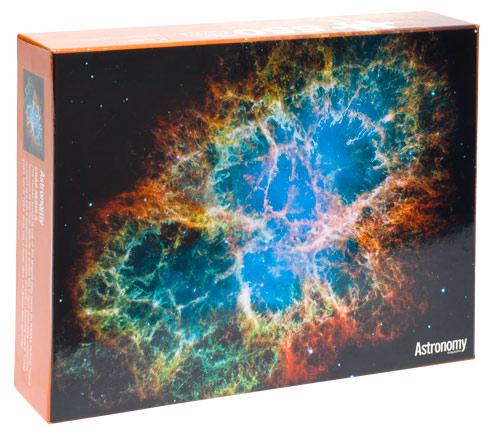crab nebula 550 piece jigsaw puzzle from astronomy magazine