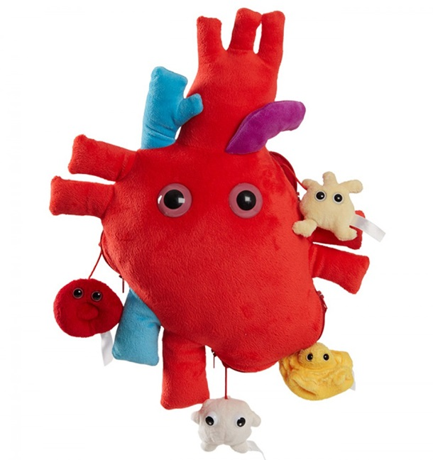 GIANTmicrobes - Heart Organ with Minis