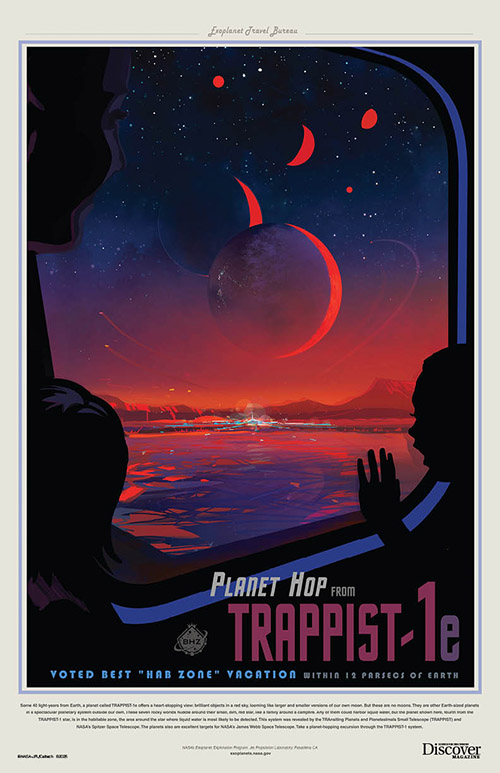 TRAPPIST-1e Exoplanet Exploration Poster