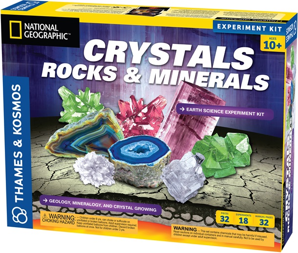 Crystal Rock & Mineral Earth Science Experiment Kit