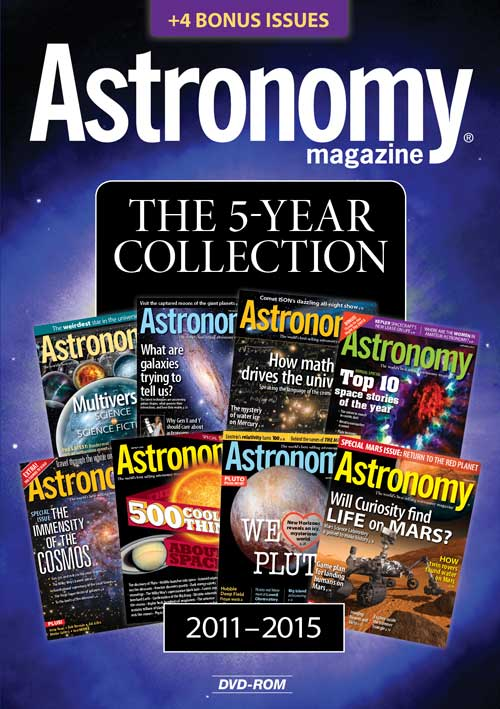 Astronomy Magazine: The 5-Year Collection 2011-2015 on DVD-ROM