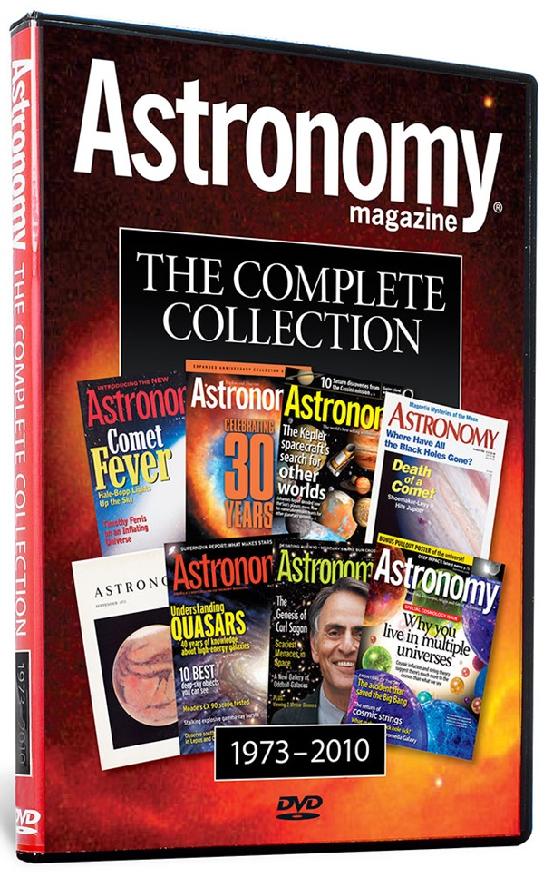 Astronomy Magazine: The Complete Collection 1973-2010 on DVD-ROM